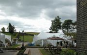 Marquee Setup in Gardens