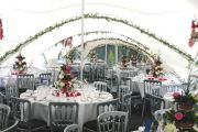 Decorated Marquee & Tables