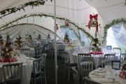 Table Arrangements Marquee Interior
