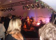 Band Performing in Marquee