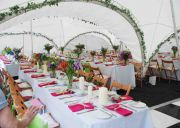Summer Party Table Arrangement