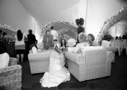 Wedding Shot inside Marquee