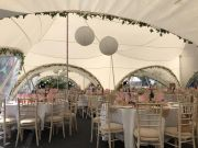 Marquee hire interior